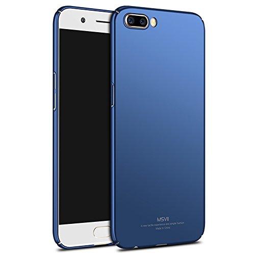 Coque OPPO R11, MSVII® Très Mince Coque Etui Housse Case et Protecteur écran Pour OPPO R11 - Bleu JY00203 Bleu