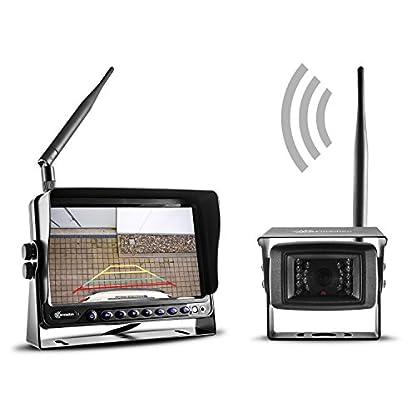 Carmedien-Funk-Kamera-Set-fr-Pferdeanhnger-12V-24V-berwachungssystem-Funksystem-Rckfahrkamera-Rckfahrsystem-CM-FRFS2