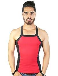 Zimfit Men's Gym Vest (Red)