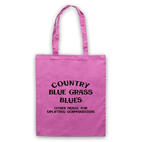 Inspiriert durch CBGB OMFUG Country Blue Grass Blues Logo Inoffiziell Umhangetaschen Rosa
