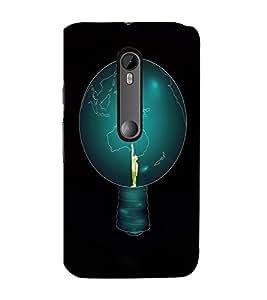 EPICCASE Top of World Mobile Back Case Cover For Moto G Turbo (Designer Case)
