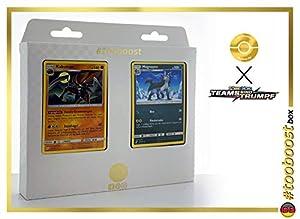 Kabutops 78/181 & Magnayen (grágeno) 87/181 Tooboost X Sonne & Mond 9 Teams Sind Trumpf - Juego de 10 Cartas Pokémon y 1 Goodie Pokémon