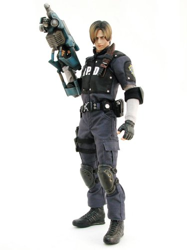 Hot Toys Resident Evil 4 Deluxe 12 inch Action Figure Leon S. Kennedy [R.P.D. Uniform] (Resident Evil Alice Kostüm)