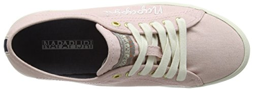 Napapijri Erin, Baskets Basses femme Rose - Pink (peach whip N59)