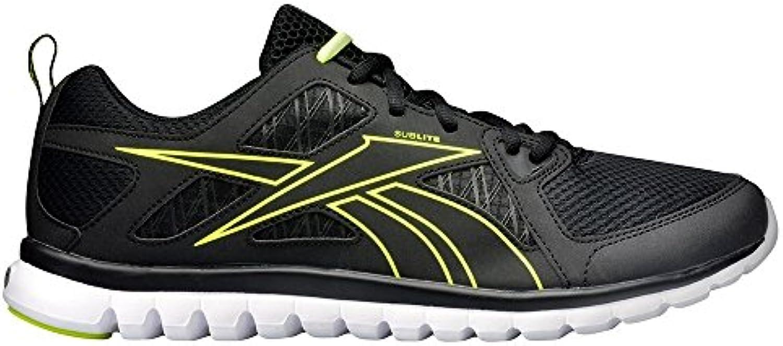 Reebok Sublite Escape MT - Zapatillas de running de Piel para hombre Negro negro 48.5 Negro negro Talla:38.5 EU