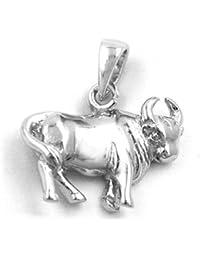 Anhänger Stier 925 Sterling Silber 93145