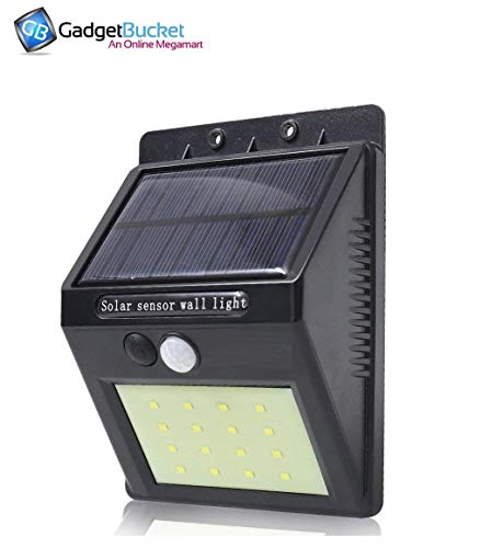 UnTech Solar Motion Sensor 20 LED Wall Light -Pack of 1