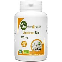 Herbes Et Plantes Aubépine Bio 200 Comprimés 400 mg