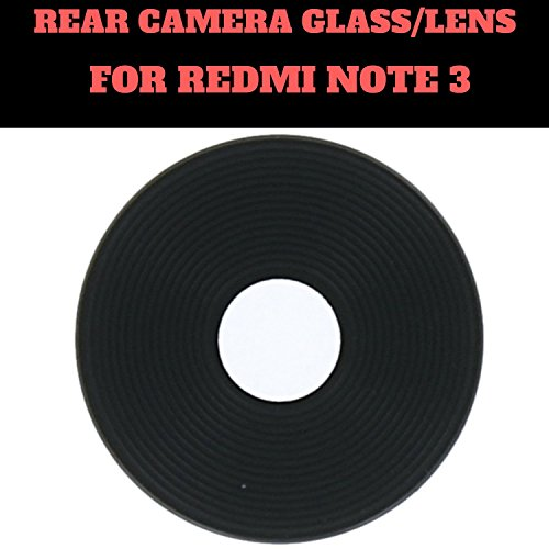 HUKATO.COM Back Rear Camera Glass Lens for Xiaomi MI Redmi Note 3