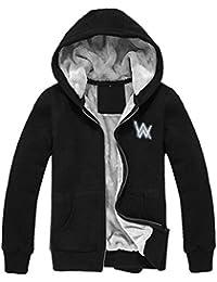 ValuePack Winter Verdicken Mantel Samt Lange Ärmel Kapuzenpullover Herren  Glühend Hoodie Sweatshirt Erwachsene Warm Jacke 0bd86bbcb2
