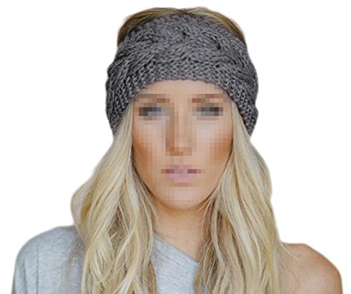 Butterme Frau Winter Gestrickt Stirnband Häkeln Headwrap Crochet Kopfband Haarband