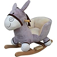 babieswithlove Cuddles Collection Toddlers Infants Rocking Horse - Suitable12mths+ - Sit On Donkey
