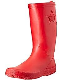 Bisgaard Unisex-Kinder Rubber Boot Basic Gummistiefel, Rot (10 red), 32 EU