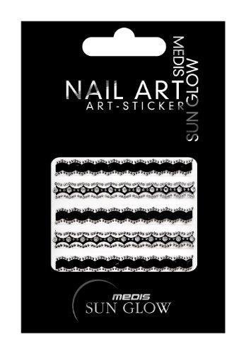 Medis Sun Glow adesivi per unghie trecce e strisce decorative