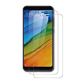 AICEK [2 Stück] Xiaomi Redmi Note 5 Schutzfolie, Tempered Glass Displayschutzfolie für Xiaomi Redmi Note 5 Schutzglas Screen Protector Gehärtetem Glas Klar Displayschutz Redmi Note 5 Panzerglas