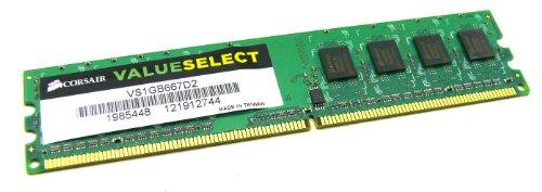 Preisvergleich Produktbild A-508 / CORSAIR Valueselect 1GB VS1GB667D2 MHz PC Speicher