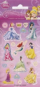 Paper Projects Disney Princess Party Pack Stickers