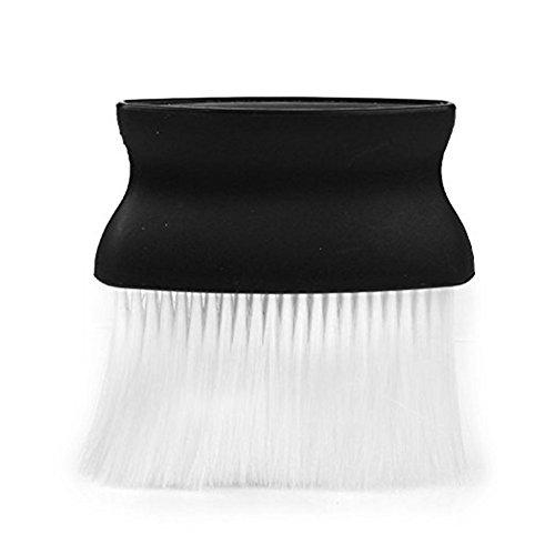 nicebuty 1pcs Peluquería cuello cara plumero cepillo de plástico cepillo de peluquería Peluquería cepillo de cuello