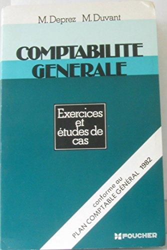 Comptabilité generale : Exercices et études de cas