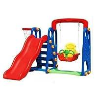 New Childrens Toddler Slide & Swing Multi Set With Basketball Hoop & Ball Age 2+ Childs outdoor/indoor slide