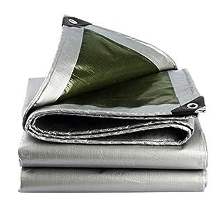 YINUO Plane Silber Polyethylen Beschichtung Regen und Oxidation Sonnenschutz Caravan Wärmedämmung 180g / m2, 22 Größen (Size : 3X6m)
