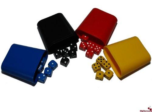 big-cerise-5-dice-des-x-4-couleurs-16-mm-4-poivriere-4-joueurs-pour-poker-des-yahtzee-etc