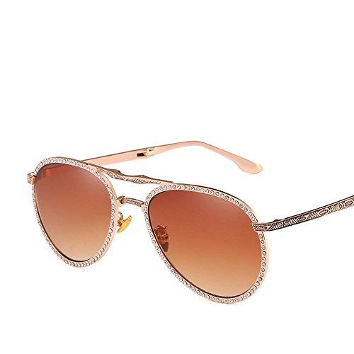 6e0606d954 Aoligei plegable masculino y femenino universal Diamond gafas de sol piloto  Shing.