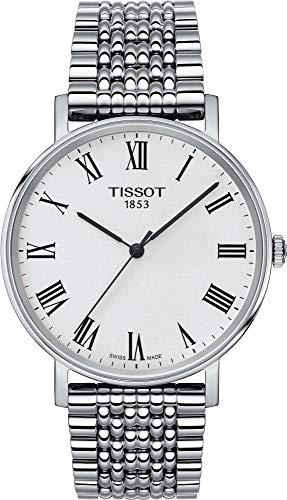 Tissot Orologio Analogico Quarzo Unisex Adulto con Cinturino in Acciaio Inox T1094101103300