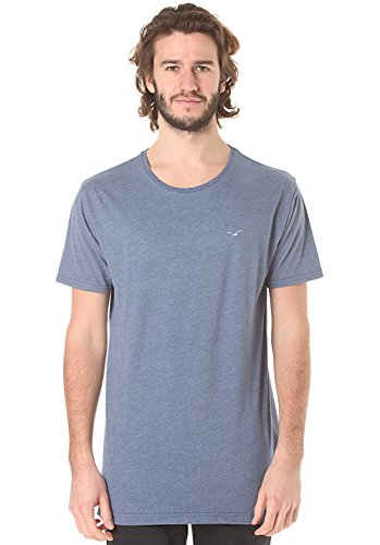 Cleptomanicx Herren T-Shirt Blue