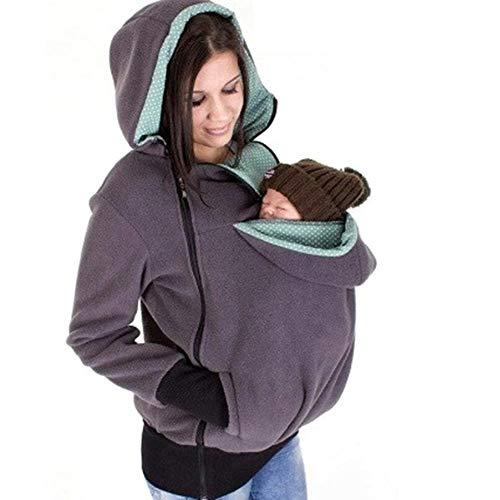 Oshide Babytrage Frauen Und Baby Warm Pullover Mommy Kangaroo Langarmshirts Im Herbst Und Winter, Europäischen Und Amerikanischen Mütter Multifunktionale Abnehmbare Baby Schlafsack