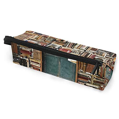 BENNIGIRY Bücher, tragbare Brillenetui, weiche Tasche mit Reißverschluss, Sonnenbrillenhalter, für Bleistifte, Kosmetiktaschen für Frauen und Mädchen