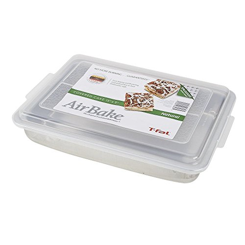T-Fal Baking Pan With Cover Dw Safe 9 X 13 X 2.25 Aluminum by T-fal