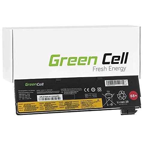 Green Cell® Standard Series 45N1128 Battery for Lenovo Laptop (3 Cells 2200mAh 10.8V Black)