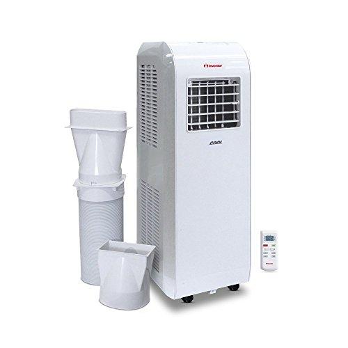 Inventor Cool Climatizzatore portatile monoblocco a 8.000 Btu/h - Tre modalità di funzionamento:raffreddamento, ventilazione, deumidificazione (Funzione DRY)