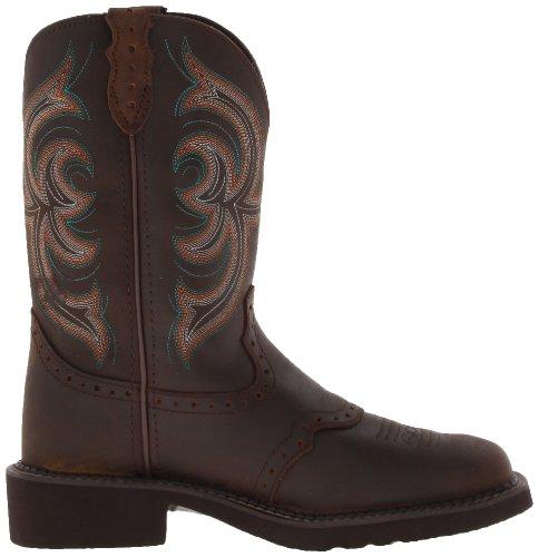 Justin Boots Stiefel L9984 Damen Westrenstiefel Bark