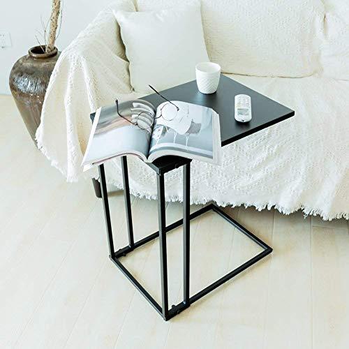 MP WOOD Furniture Sofa Side Table Metal Snack Laptop C...