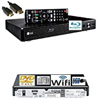 LG BP350 SMART Share Blu-Ray/DVD/CD Player, WiFi Enabled, Multi Room, Remote/Compact…