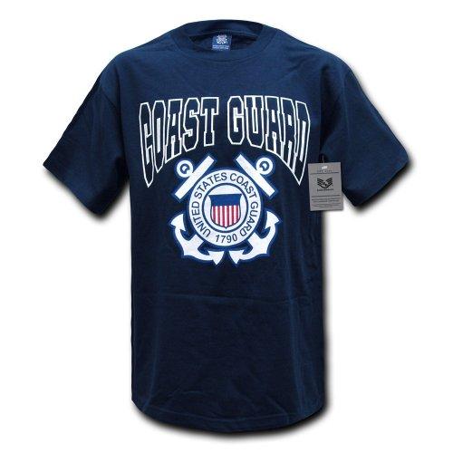Rapid rapiddominance Coast Guard Classic Military Tee, Herren, S25-CST-NVY-05, Navy, XXL -