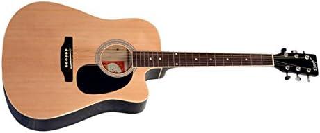 Amaze AW41C-201 Electro-Acoustic Guitar, Natural