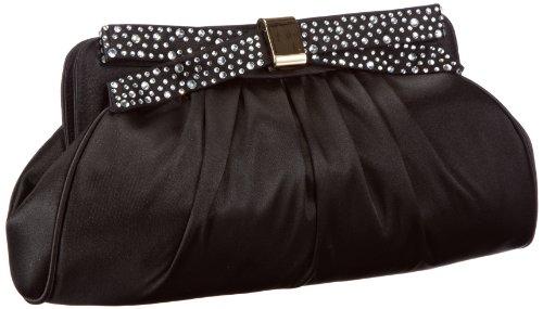Victoria Delef EVENING BAG - Bolso de mano mujer, color negro, talla 29x14x6 cm (B x H x T)