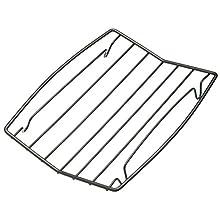 MasterClass Kitchen Craft Non-Stick Roasting Rack, Steel, Silver, 26 x 20 x 16 cm