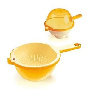 Snips Coli Passoire Plastique Jaune/ambre