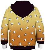 aixingwuzi 2019 New New Demon Slayer: Kimetsu No Yaiba Kamado Tanjirou Tomioka Giyuu Hoodie 3D Children Clothing Sweatshirts(None L H04)