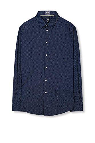 ESPRIT Collection Camicia Uomo Blu (Navy)