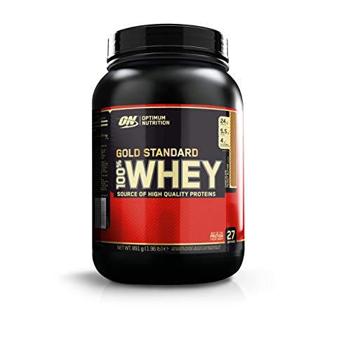 Optimum nutrition 100% whey gold standard, proteine whey in polvere, cioccolato burro di arachidi (peanut butter), 0.891 kg, 27 porzioni