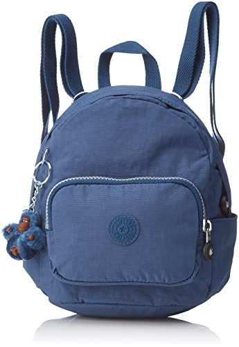 Kipling Mini Backpack, Sacs à dos femme, Blau (Jazzy Blue), 17x19x21.5 cm (B x H T)