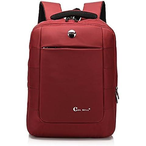 Hombre Mujeres 15.6 inch nylon multifunción maletín bandolera para ordenador portátil ordenador bolsa para iPad/ MacBook Pro/ MacBook Air/Notebook/Laptop/Ultrabook/Dell/Acer/Sony/Samsung/Lenovo
