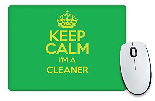 green-keep-calm-im-a-cleaner-mouse-mat-colour-3228