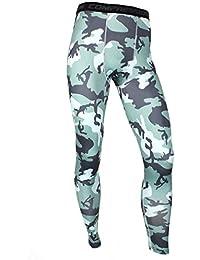 UNIQUEBELLA Pantalon de Compression Homme Legging de Sport Pantalon Collant  pour Fitness Course bc098c027a4