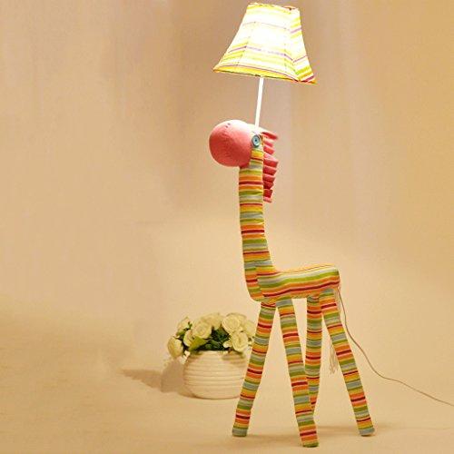 Lampadaire Enfants Cartoon Cute Creative Floor Lamp Princess Room Chambre Salon Pony Vertical Lamp Lampadaire dans le salon